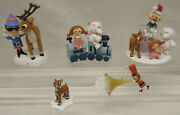 5 Hallmark Rudolph The Red-nosed Reindeer Island Misfit Toys Christmas Ornaments