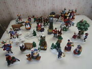 Dept 56 12 Days Of Christmas Dickens Village 1-12 Retired Complete Set