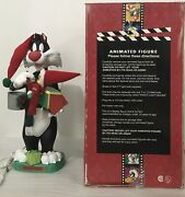 Matrix Sylvester And Tweety 21 Animated Lighted Door Greeter Looney Tunes Holiday