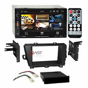 Power Acoustik Usb Mp3 Bluetooth Stereo Dash Kit Harness For 10-12 Toyota Prius