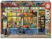 The Greatest Bookshop In The World 5000 Piece Puzzle 18583 New Educa