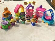 Mix Lot Disney Princess Parade Train Floats Fisher Price Little People Cinderell