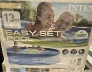 New Intex 13ft X 33in Easy Set Swimming Pool W/ 530 Gph Filter Pump Fast Ship