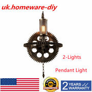 Antique French Style Vintage Steampunk Chandelier Pendant Light Home Lighting