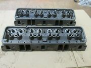1965 Small Block Chevy Sbc 327 Hump Heads 3782461 461 A-6-5 A-7-5