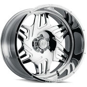 4 American Truxx Forged Orion Atf1908 Wheel 24 Polished 24x14 8 X 165.1 -76mm