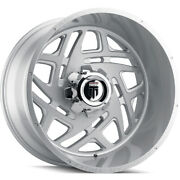 4 American Truxx Cosmos At1904 Wheel 24 Brushed 24x14 5 X 127 -76mm Mesh Design