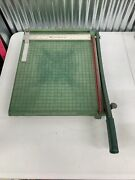 Vintage Premier Brand Photo Materials Co. Paper Cutter Guillotine Style