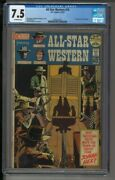 All Star Western 10 - Cgc 7.5 - 1st Appearance Of Jonah Hex - Dc Comics 1972
