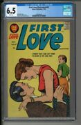 First Love Illustrated 88 - Cgc 6.5 - Silver Age Romance 1958