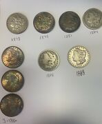 Lot Of 20 - Roll Of Mixed Morgan And Peace Silver Dollars Us 1