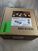 Brightown 25ft G40 Outdoor String Lights With 25 Clear Bulbs - Black