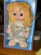 Guardian Angel Plush Precious Moments With Pin Still In Box