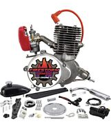 Yd100 Bicycle Engine Kit Zeda 100 Complete 50mm Firestorm Edition 44 Tooth Yd100