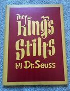 The Kingand039s Stilts - Dr. Seuss - 1939 First Printing First Edition - Excellent