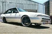 """4x Genuine Simmons 22"""" Fr-1 Holden Vf Ve Staggered Wheels New Tyres Clubsport"""