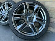 """4x Holden Hsv Gts Maloo 20"""" Blade Wheels And Nankang Staggered Tyres Vf Ve"""