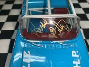 1957 1/24 Richard Petty And Dale Inman 2x Autographed Oldsmobile Convertible