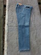 Nice Usa Made 1986 Leviand039s 505 0216 Straight Leg Regular Fit Jeans Tagged 36 X 33