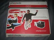 Phil And Teds Clip-on Portable Black High Chair For Eating On The Go Metoo