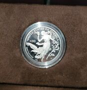 2016-w American Eagle One 100 Ounce Platinum Proof Coin Us Mint W/ Coa