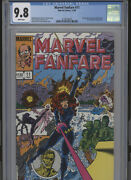 Marvel Fanfare 11 Mt 9.8 Cgc White Pages Jo Duffy Stories Perez Cover And Art