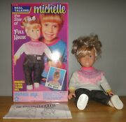 1991 Meritus Talking Michelle Tanner 15 Doll Full House With Box And Instructions