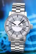 Fortis Watch Menand039s Spacematic Classic White 623.10.37m Automatic W/ Box Case