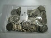 2 Full Rolls 100 Coins Silver Mercury Dimes. 5 Lot Available. Free Us Shipping