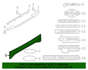 New Genuine Ford Outer Tailgate Outer Panel For 18-20 F150 Pn Jl3z-99425a34-ca
