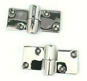 2 4 Pcs Heavy Duty Take-apart Hinge 316 Stainless Steel Left And Right Total