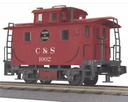 ✅mth Railking Colorado Southern Bobber Caboose 30-77047 For Steam Engine Cands