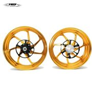 Forged Aluminum Alloy Wheels Rims For Yamaha Xmax 250 And 300 Xf07 Gold
