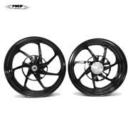 Forged Aluminum Alloy Wheels Rims For Yamaha Xmax 250 And 300 Xf07 Black