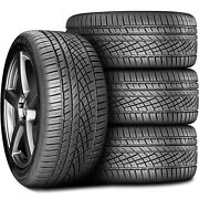 4 Continental Extremecontact Dws 06 295/40r20 Zr 110w Xl A/s Performance Tires