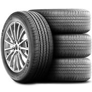 4 New Michelin Primacy Mxv4 235/60r17 100t A/s All Season Tires
