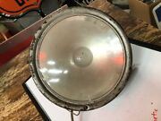 Vintage Dietz Spot Search Light Glass Lens Old Car Fire Truck Building Yard Old