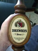 Vintage Drewrys Wooden Beer Tap Handle 10very Nice Great Add To Your Collection