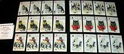 The Black Cat Fortune Telling Game Parker Brothers Rare Antique All 24 Cards