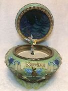 """Disney Tinkerbell Neverland Music Box - Plays """"you Can Fly"""" 1951 - Vintage"""
