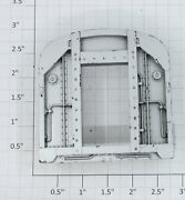Lionel 2532-42yz Vestibule End Without Inner Door With Silver Paint