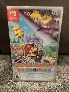 Paper Mario The Origami King - Nintendo Switch. Factory Sealed