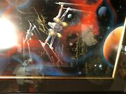 Star Wars Death Star Rising Signed Lithograph