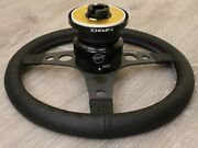 Nrg Short Hub Quick Release Steering Wheel 68fg For Mitsubishi Eclipse Gs Gst