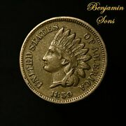 1859 Indian Head Cent 1c Penny, 061921-27 Free Shipping