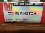 Hornady 223 Remington Reloading Dies. New And Ship Fast - Not Rcbs Or Lee