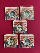 1964 Beatles Candy Licorice Records Set Of 5 Rare / Vintage