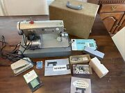 Vintage Sears Kenmore Sewing Machine And Accessories Manuals Attachments Tested