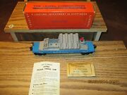 Lionel 6544 Missile Firing Car Type 2 With Black Control Panel