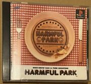 Playstation Harmful Park Software High Brow Gag Pure Shooting Game Ps Think Used